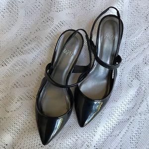 Black Impo Heels Size 9.5